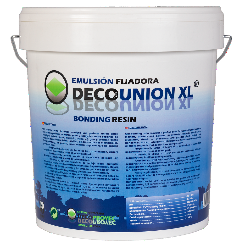 DecoUNION XL - hechtprimer/fixeermiddel - 12kg